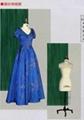 旗袍服裝剪裁模特