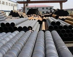 welded steel pipes - SSAW