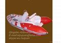 Fiberglass FRP inflatable boat  2