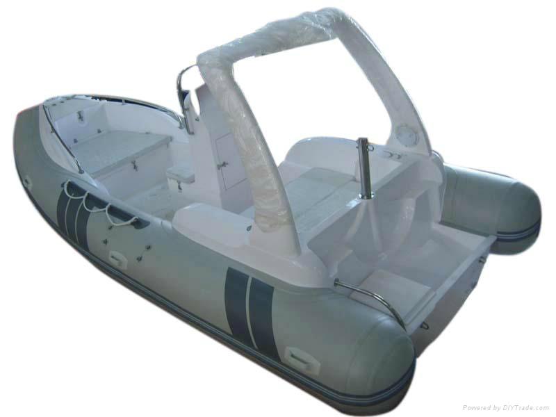 Fiberglass FRP inflatable boat  1