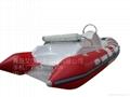 Fiberglass FRP inflatable boat  4