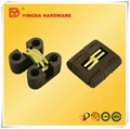 High quality nylon hinge with steel/expansion concealed hinge
