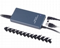Universal Charger for Laptops 90W with USB Universal & Slim - TA09A3 1