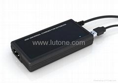 Universal AC/DC Adapter 45W with 5V 1A USB, Ultra Slim - TA04E1