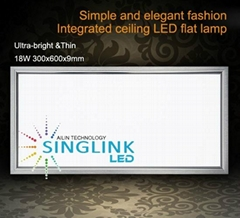 18w Led panel light SMD3014 300x600x9mm