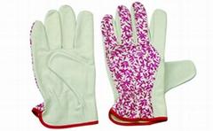 Goat skin leather garden glove / Garden gloves