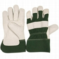 PIG grain leather gloves  /working gloves