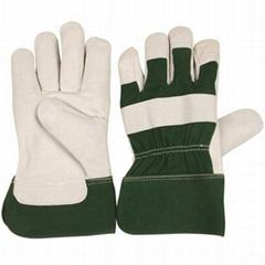 PIG grain leather gloves  /working gloves