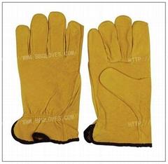 Driving glove / Pig skin leather drive glove