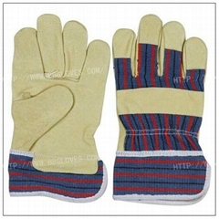 88PASA/pig grain leather gloves