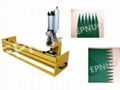 PVC/PU conveyor belt finger punch machine