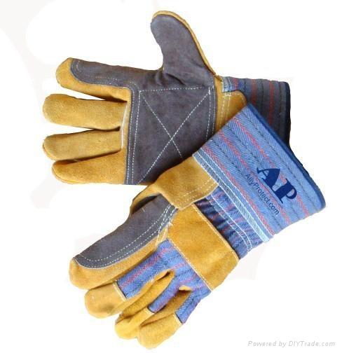 cowsplit leather working glove 1