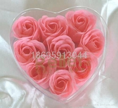 9朵玫瑰香皂花圣诞节新年情人节礼物送朋友婚庆节日礼品