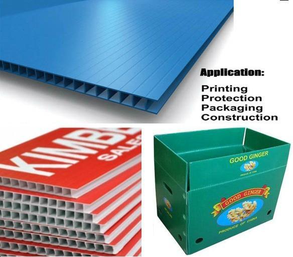 PP Corrugated Plastic Sheet - QC0010