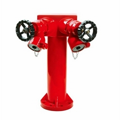 2 ways fire hydrants with valve,fire hydrant,fire fighting