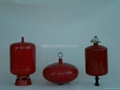 automatic powder fire  extinguisher