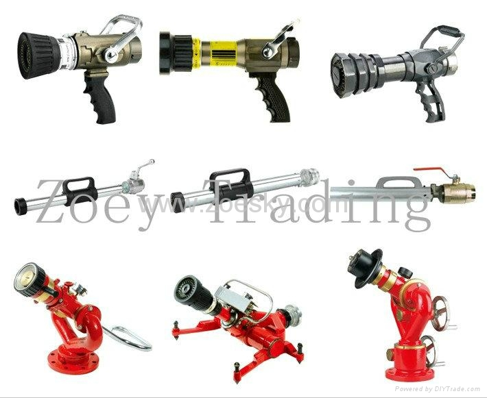 fire monitor fire nozzle for fire fighting hose 1