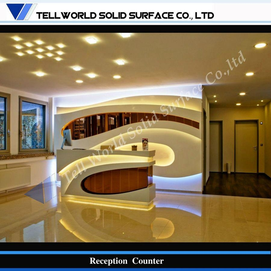 Luxurious Modern Design Commercial Salon Reception Counter - TW ...
