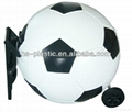 Plastic Football Ice Box with Wheel