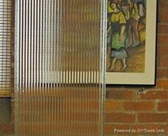条纹U型玻璃