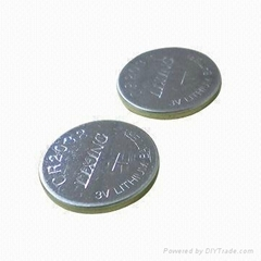 Li-MnO2 coin cell battery CR2032