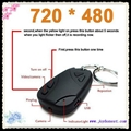 HD 808 car key chain camera DVR 720p