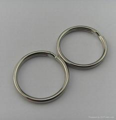 Fashion metal high quality split ring