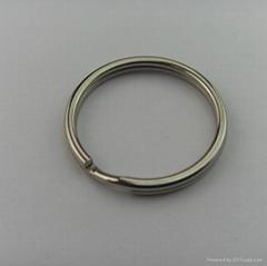 Fashion metal high quality 25mm key ring