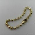 Fashion metal 2.4mm bead chain