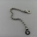 Fashion metal nickel ball chain