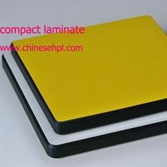 Solid grade compact laminate