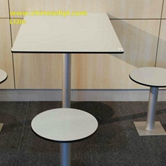 Restaurant fast food HPL Table Tops