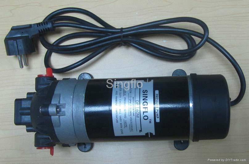 Dc ac high pressure water pump for car washing dp 160m Car wash motor pump