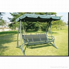 HC-A2506 High quality Garden Swing Chair With 3 Seater