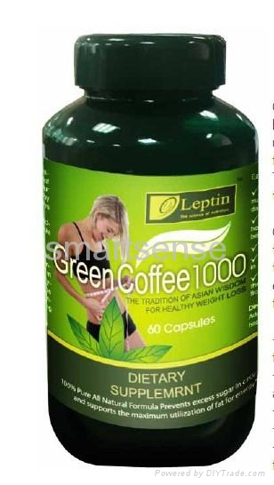 leptin green coffee 1000 caps---belly control 1