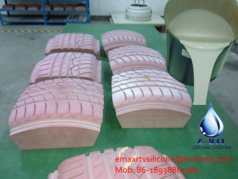 Silicon Rubber For Tires Molds Making Em620 E Max