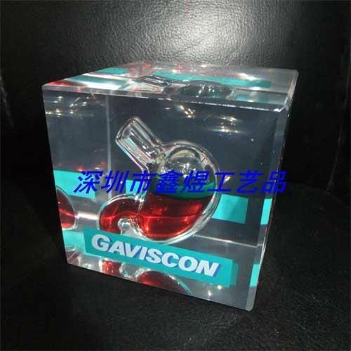 水晶胶胃工艺品 1