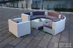 garden outdoor wicker sofa