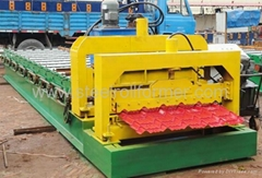africa popular tile roll forming machine  1000
