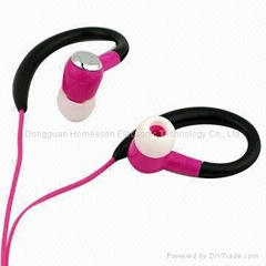 Ear-hook earphone for MP3 and MP4 Player OP504