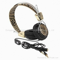 Headphones with MIC for Computer and Notebook PC HP002M
