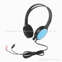 Wired Headphone with mic for Desktop or Laptop PC HP735MV
