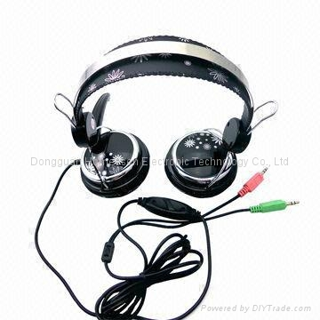Wired Headphone with Mic for Desktop and Notebook PC HP736MV 1