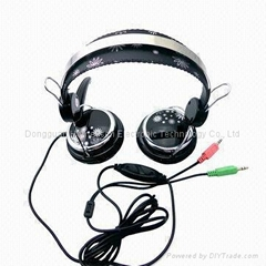 Wired Headphone with Mic for Desktop and