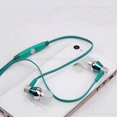 Metallic Wired Earphones with in-line MIC and Remote for Apple iPhone EP322MV