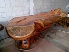 大型香樟木根雕茶桌茶几