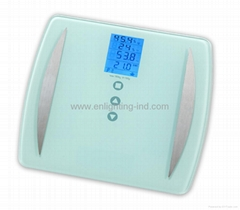 ELECTRONIC BODY FAT SCALE WITH BMI/ HEIGHT/MUSCLE