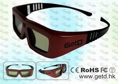 Cinema IR Active shutter 3D glasses GT100