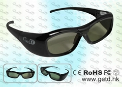 Universal 3D TV active shutter glasses 3D eyewear GH310-ALL