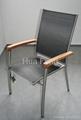 不鏽鋼椅 1